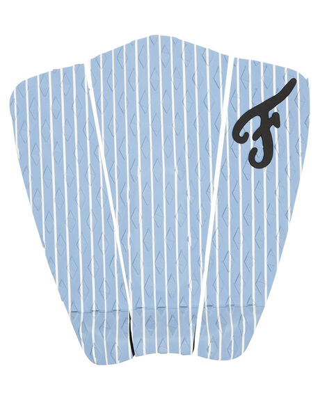 BLUE WHITE BOARDSPORTS SURF FAMOUS TAILPADS - HAM002BLUWH