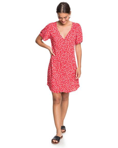 LOLLIPOP POESIE WOMENS CLOTHING ROXY DRESSES - ERJWD03485-RPQ7