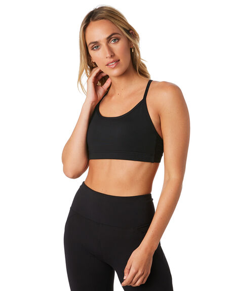 BLACK WOMENS CLOTHING LORNA JANE ACTIVEWEAR - W081938BLK