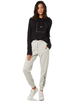 GREY HEATHER WOMENS CLOTHING HURLEY PANTS - AGPTIC1905A