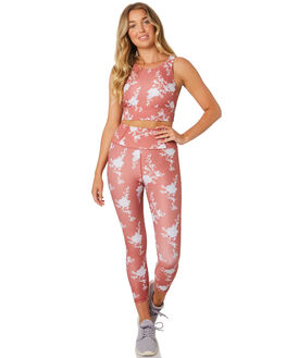 CLAY FLORAL WOMENS CLOTHING ARCAA MOVEMENT ACTIVEWEAR - 1A010-3CLYFL