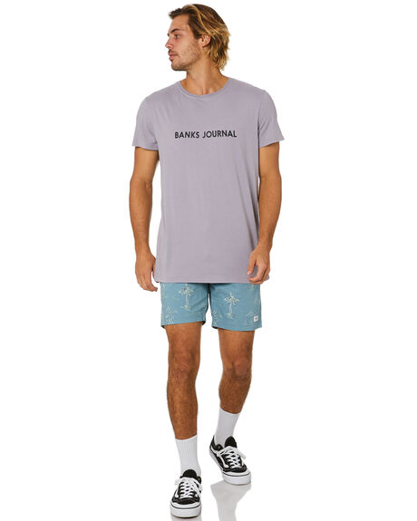 OLD MAUVE MENS CLOTHING BANKS TEES - WTS0441ODM