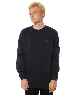 NEW NAVY MENS CLOTHING RVCA JUMPERS - R183157ANNVY