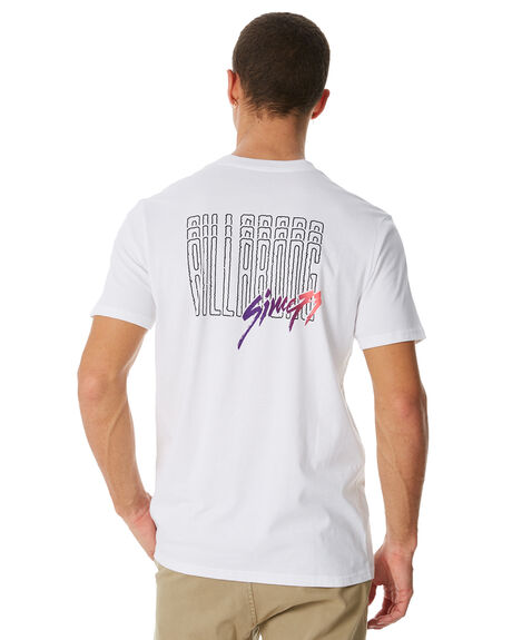 WHITE MENS CLOTHING BILLABONG TEES - 9581032WHT