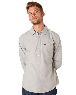 GREY MENS CLOTHING BRIXTON SHIRTS - 01102GREY
