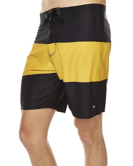 DIRTY BLACK MENS CLOTHING BANKS BOARDSHORTS - BS0038DBL