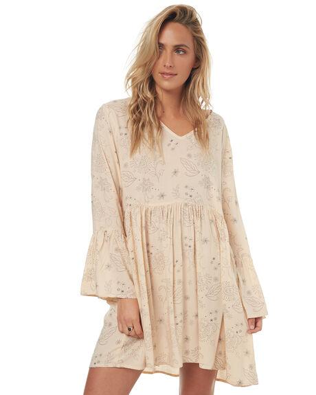 DALILA PRINT WOMENS CLOTHING LILYA DRESSES - RVD021-LSM17DALI