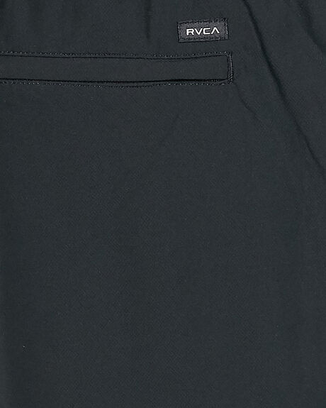 BLACK MENS CLOTHING RVCA SHORTS - RV-R393313-BLK