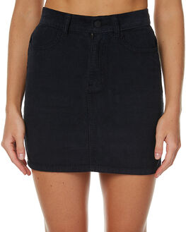 STONE BLACK WOMENS CLOTHING AFENDS SKIRTS - 52-03-052SBL