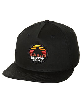 TRUE BLACK MENS ACCESSORIES BURTON HEADWEAR - 154731001