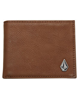 MOCHA MENS ACCESSORIES VOLCOM WALLETS - D6031648MOC