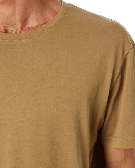 TAN MENS CLOTHING ACADEMY BRAND TEES - 21S440TAN