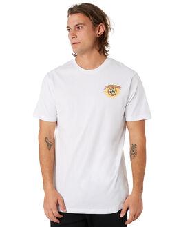 WHITE MENS CLOTHING SANTA CRUZ TEES - SC-MTC9461WHT