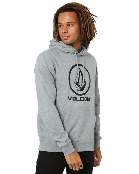HEATHER GREY MENS CLOTHING VOLCOM JUMPERS - A4101934HGRP