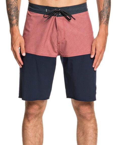 NAVY BLAZER MENS CLOTHING QUIKSILVER BOARDSHORTS - EQYBS04320-BYJ0