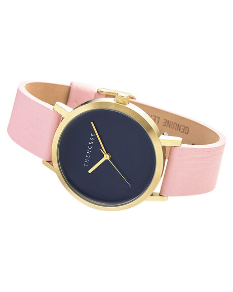 GOLD NAVY MUSK V MENS ACCESSORIES THE HORSE WATCHES - ST0123A17