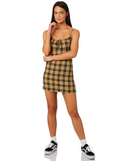 CHECK WOMENS CLOTHING AFENDS DRESSES - W184808CHE