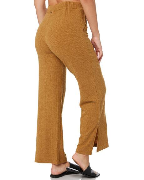 CAMEL WOMENS CLOTHING RUSTY PANTS - PAL1171CAM
