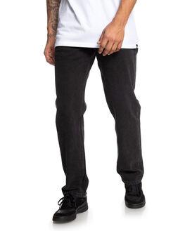 VINTAGE BLACK MENS CLOTHING DC SHOES JEANS - EDYDP03403-KYGW