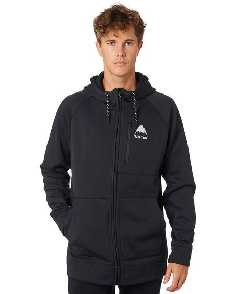 TRUE BLACK MENS CLOTHING BURTON JUMPERS - 16538106001TRBLK