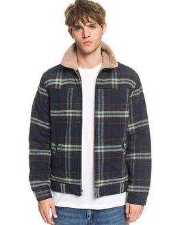 BLUE NIGHTS MENS CLOTHING QUIKSILVER JACKETS - EQYJK03544-BST1