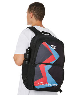 BLACK MENS ACCESSORIES BILLABONG BAGS + BACKPACKS - 9682010ABLK