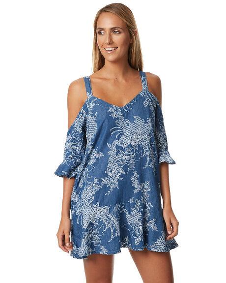 MIDBLUE WOMENS CLOTHING MINKPINK DRESSES - MD1610954BLU