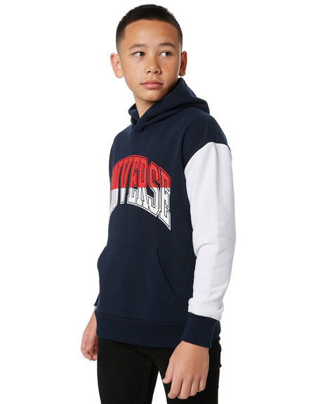 OBSIDIAN KIDS BOYS CONVERSE JUMPERS + JACKETS - R96A191695