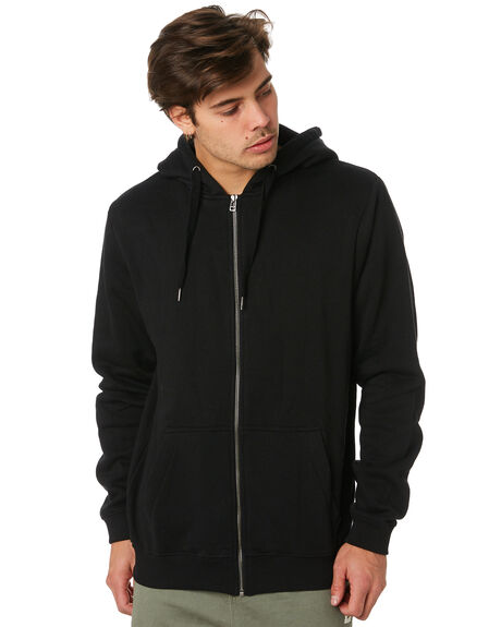 BLACK MENS CLOTHING SWELL JUMPERS - S5164443BLK