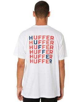 WHITE MENS CLOTHING HUFFER TEES - MTE91S23.544WHT