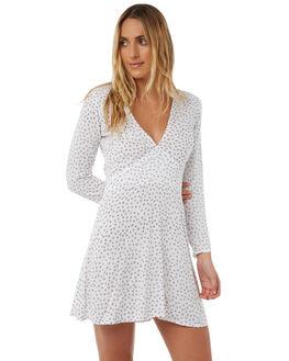STAR PRINT WOMENS CLOTHING LILYA DRESSES - SVD23-PRLAW18STAR