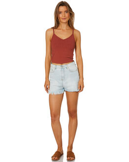 RUST WOMENS CLOTHING ALL ABOUT EVE SINGLETS - 6426018COPP