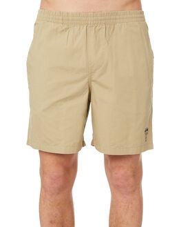 TAN MENS CLOTHING STUSSY BOARDSHORTS - ST081610TAN