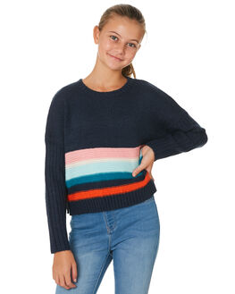 NAVY KIDS GIRLS EVES SISTER JUMPERS + JACKETS - 9530028NAVY