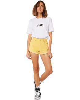 MELLOW WOMENS CLOTHING AFENDS SHORTS - W181303MEL