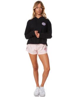 BLACK WOMENS CLOTHING SANTA CRUZ TEES - SC-WLC7359BLK