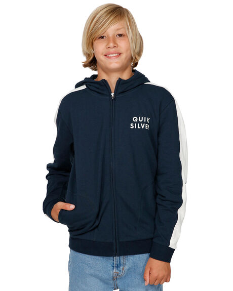 NAVY BLAZER KIDS BOYS QUIKSILVER JUMPERS + JACKETS - EQBFT03492-BYJ0