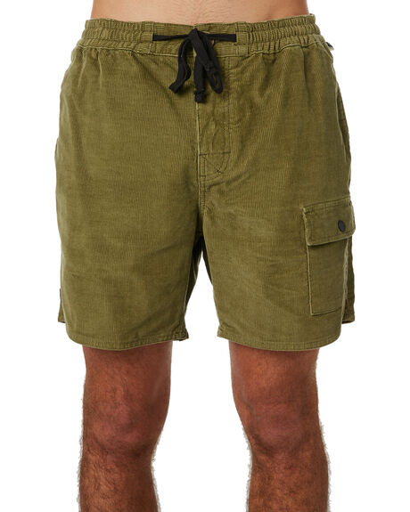 OLIVE OUTLET MENS THE CRITICAL SLIDE SOCIETY SHORTS - WT1812OLI