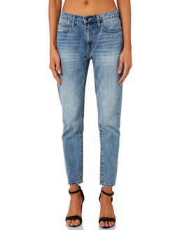 MID BLUE WOMENS CLOTHING THE HIDDEN WAY JEANS - H8189195MIDBL