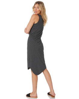STRIPE WOMENS CLOTHING SILENT THEORY DRESSES - 6008020STP