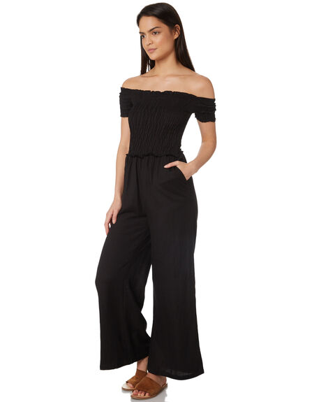 BLACK OUTLET WOMENS JORGE PLAYSUITS + OVERALLS - 8320057BLK