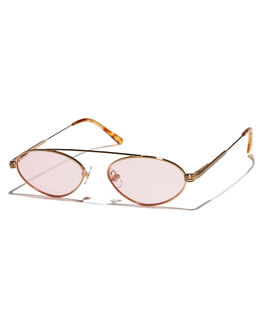 GOLD WOMENS ACCESSORIES CRAP SUNGLASSES - 173WF91PT4GLD