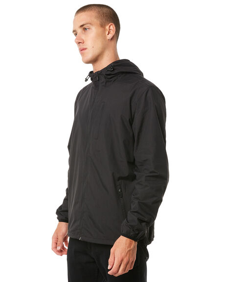 BLACK MENS CLOTHING SWELL JACKETS - S5184382BLACK