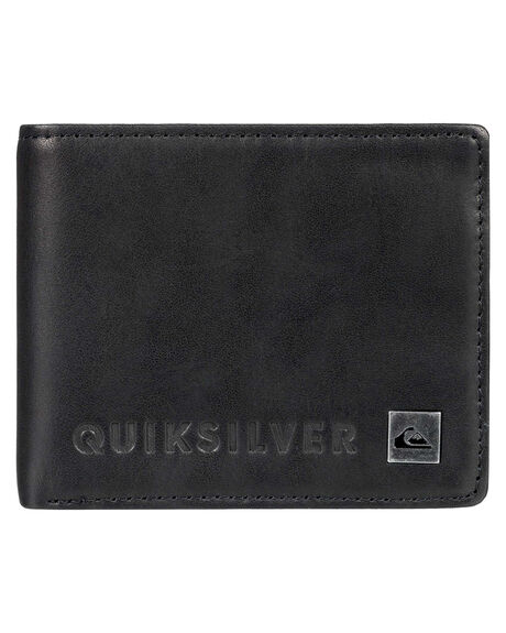 BLACK MENS ACCESSORIES QUIKSILVER WALLETS - EQYAA03692KVJ0