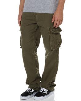 OLIVE MENS CLOTHING ELEMENT PANTS - 134243OLI