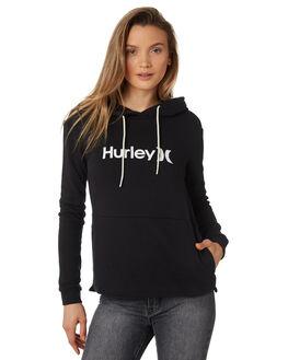 BLACK WOMENS CLOTHING HURLEY JUMPERS - AJ3609010