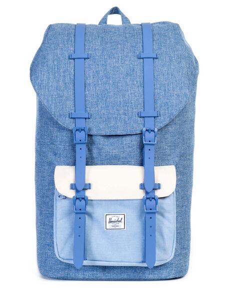 ed8f69bf2ce Herschel Supply Co Little America Backpack - Limoges Crosshatch ...