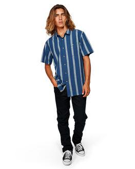 DARK BLUE MENS CLOTHING BILLABONG SHIRTS - BB-9591203-B69
