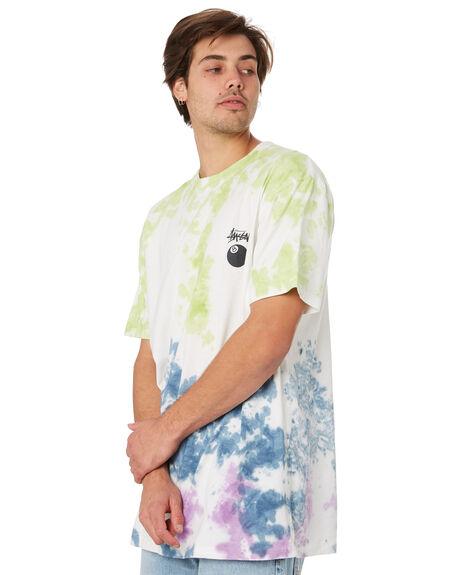 TRI COLOUR MENS CLOTHING STUSSY TEES - ST092104TRICOL