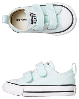 TEAL KIDS GIRLS CONVERSE FOOTWEAR - 763558TEAL